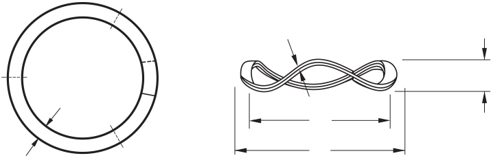 Illustration of a Nested Wave Spring